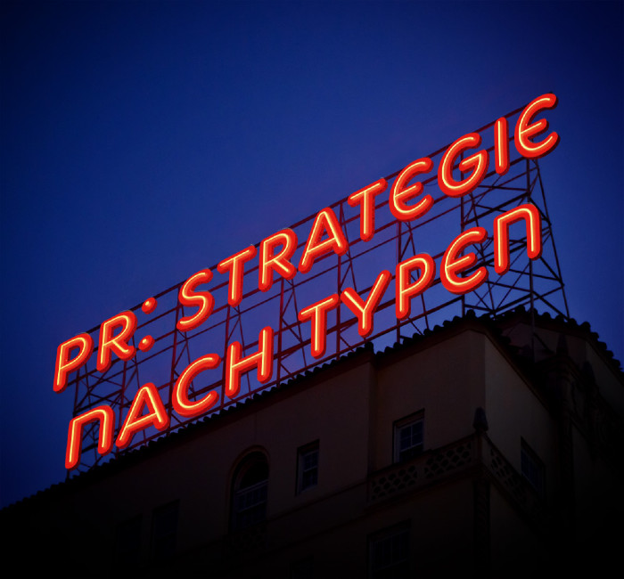 PR-Strategien nach Typen