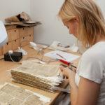 Handwerkerinnen heute: Die Papier- und Buchrestauratorin Sif Dagmar Dornheim