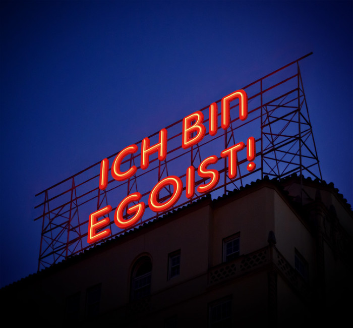 PR-Strategie Egoismus, Egoismus, Eigensinn, PR-Strategien