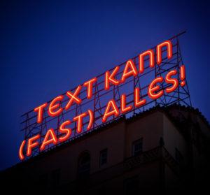 Text kann fast alles! PR-Typologie, PR-Strategie, Textstrategie, content