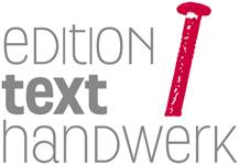 edition texthandwerk, selfpublishing, autor werden, buch veröffentlichen