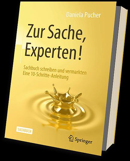Buch schreiben, Sachbuch schreiben, Daniela Pucher, zur Sache Experten, Expertenbuch, Expertbuch schreiben
